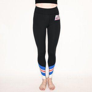 P.E NATION Full Toss Stripe High-Rise Leggings